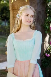beauty notes lily james's brown