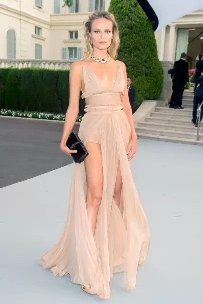 amfAR RedCarpet Trend Barely There Dressing British Vogue