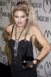 madonna and features british