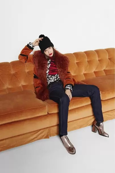 dalton sofa leon s very large corner sofas sonia by rykiel spring summer 2015 ready to wear show report autumn winter 2016