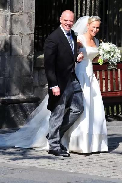 Zara Phillips Wedding Dress Pictures  Photos  British Vogue