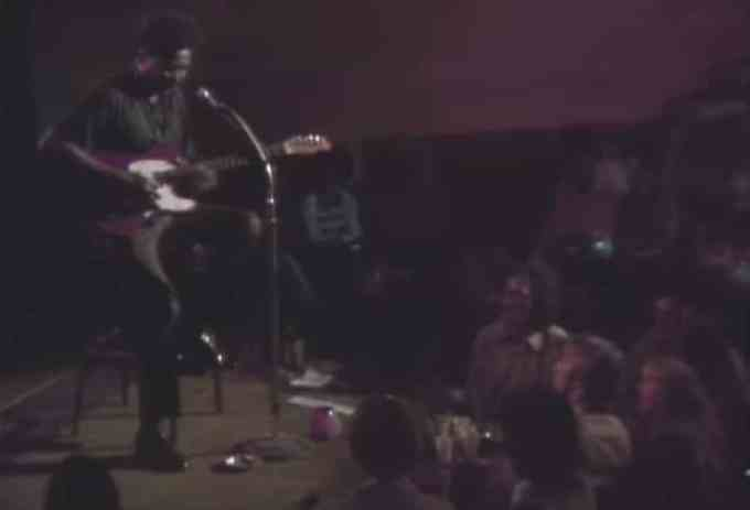 muddy waters live on stage
