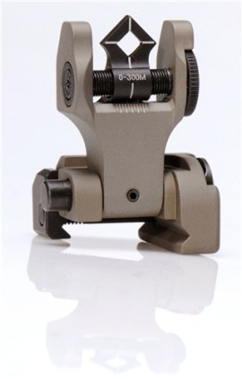 Troy BattleSight Rear Di-Optic Aperture (DOA) Folding (FDE)