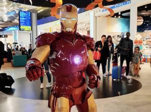 VGB EVENT Robot geant ironman location lyon rhone alpes