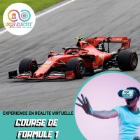 Cours de formule 1 F1 expériences en réalité virtuelle VGB EVENT Lyon Rhone alpes France