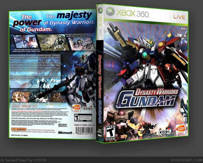 2 I Gundam Warriors Dynasty