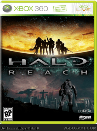 Halo Reach Xbox 360 Box Art Cover By Deleted