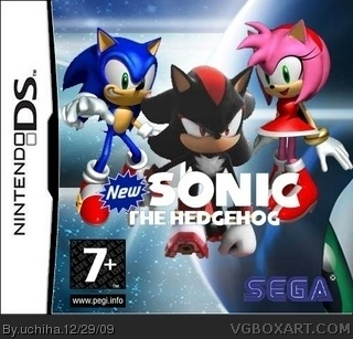 Sonic The Hedgehog DS Nintendo DS Box Art Cover By Uchiha
