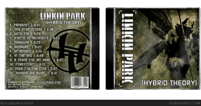 Linkin Park Hybrid Theory Music Box Art Cover By VGMaster