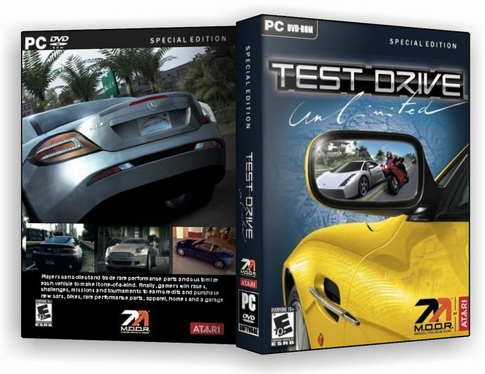 Test Drive Unlimited PC Box Art Cover by cmt