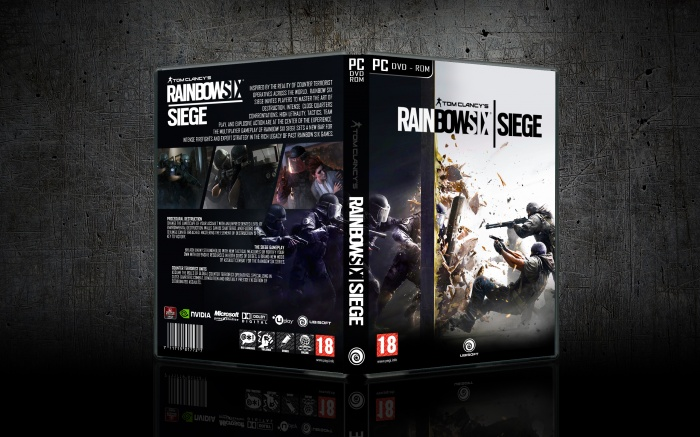 Rainbow Six Siege PC Box Art Cover By Chatura