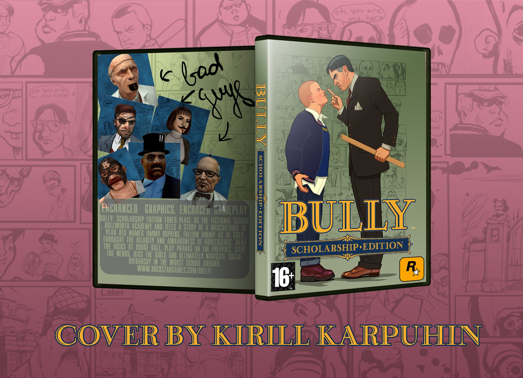 Viewing full size Bully: Scholarship Edition box cover