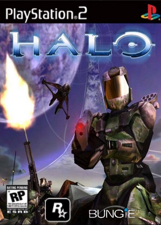 Halo PlayStation 2 Box Art Cover By Exeox