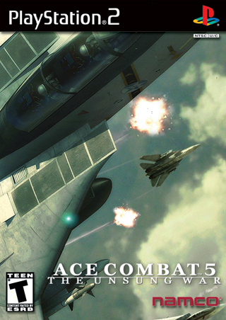 Ace Combat 5: The Unsung War PlayStation 2 Box Art Cover by CanadianGuy