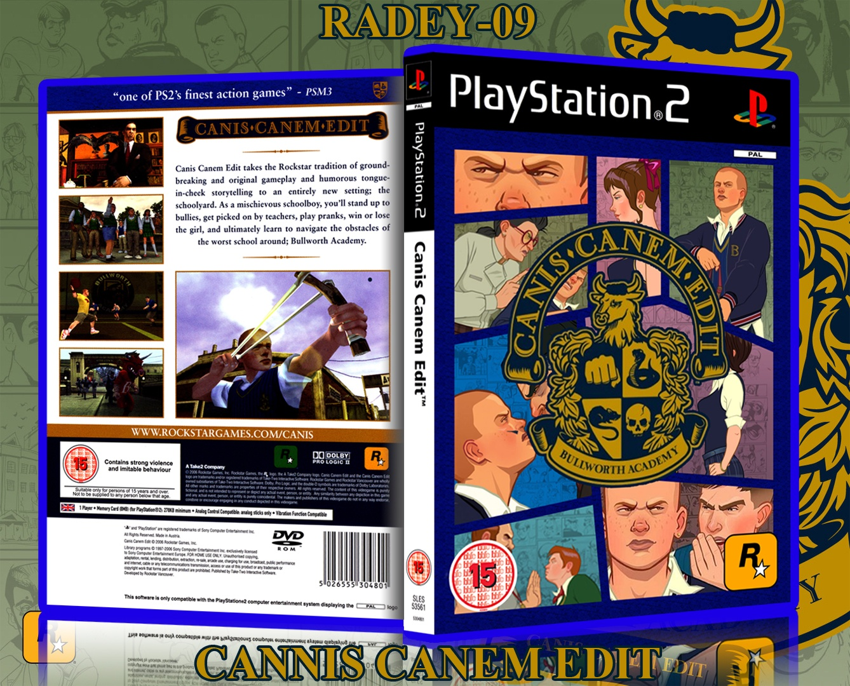 Canis Canem Edit PlayStation 2 Box Art Cover By Radey 09