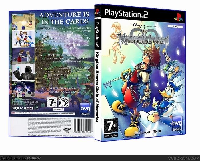Gravity Falls Wallpaper Android Kingdom Hearts Chain Of Memories Playstation 2 Box Art