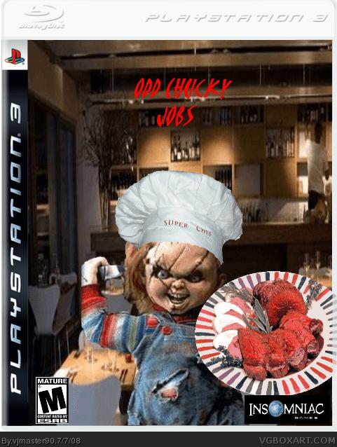 Odd Chucky Jobs PlayStation 3 Box Art Cover By Vjmaster90