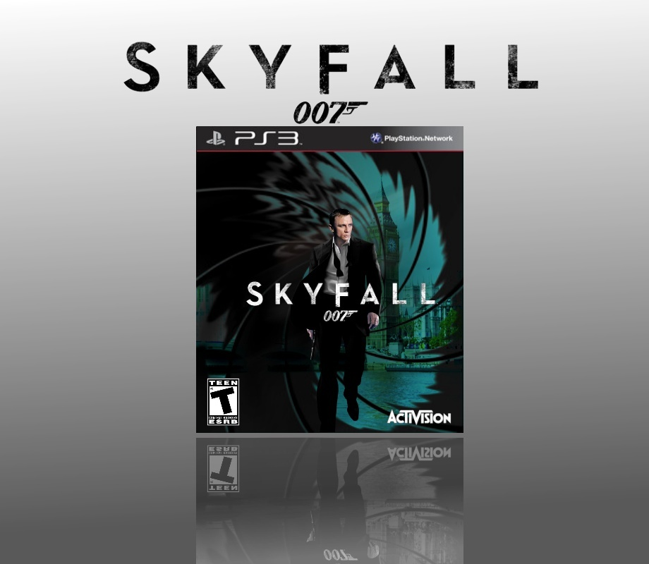 007 Skyfall PlayStation 3 Box Art Cover by roxas1240