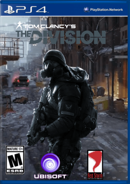 Tom Clancys The Division PlayStation 4 Box Art Cover By
