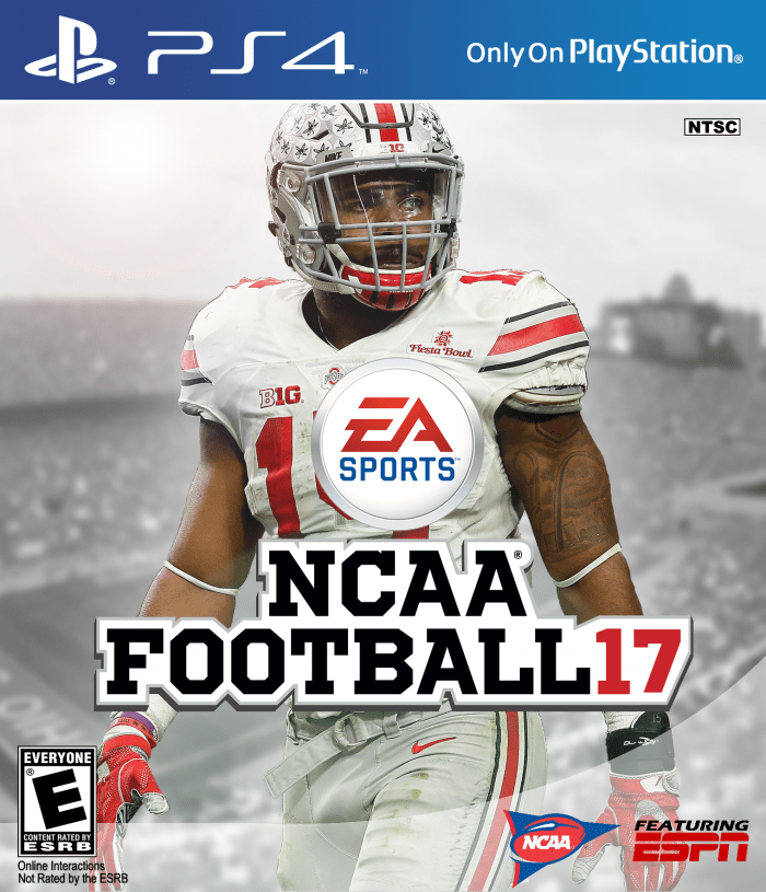 NCAA Football 17 PlayStation 4 Box Art Cover By Ausem