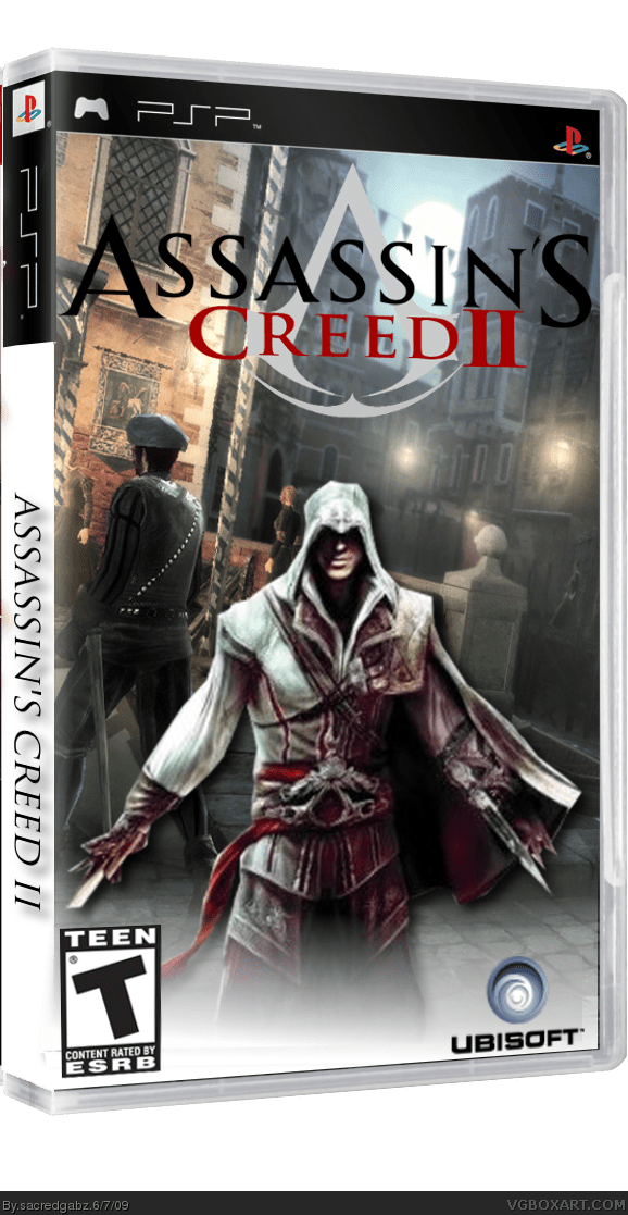Assassins Creed 2 PSP Box Art Cover By Sacredgabz