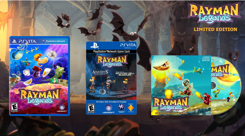 Rayman Legends Limited Edition PlayStation Vita Box Art