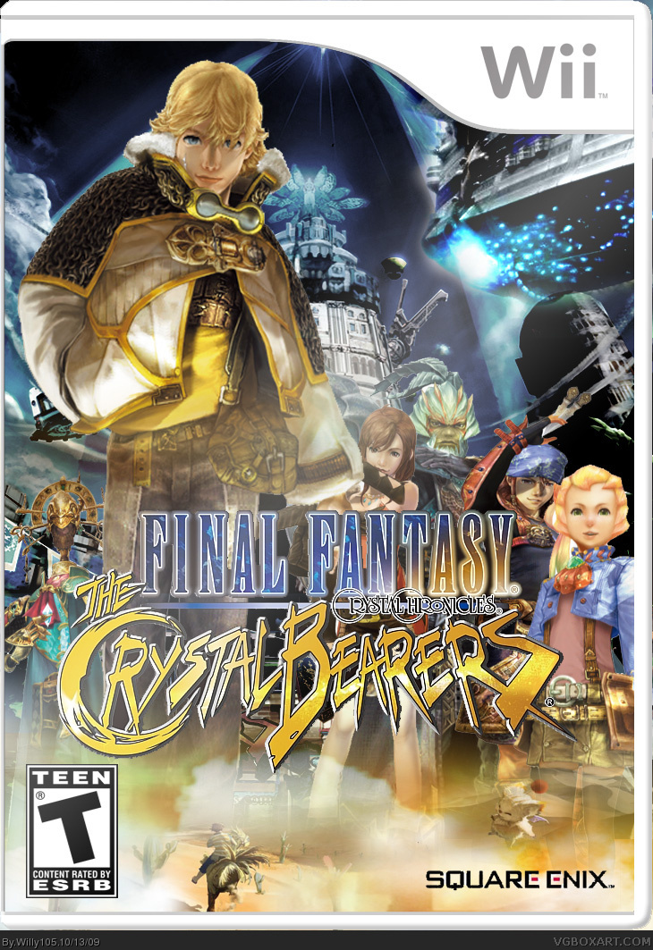 Final Fantasy Crystal Chronicles Crystal Bearers Wii Box