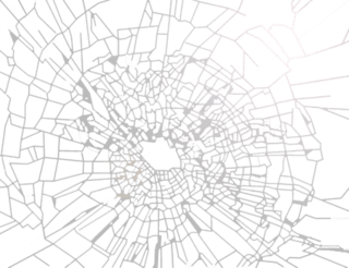 Glass Crack render