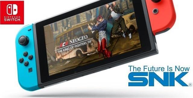 "Nintendo Switch terá novos títulos do selo ""ACA Neo Geo"""