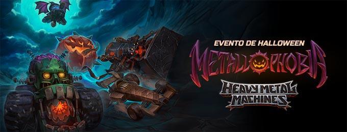 Halloween invade o Heavy Metal Machines