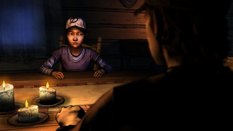 clementine-the-walking-dead-table