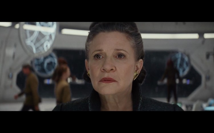 princess leia survives the last jedi