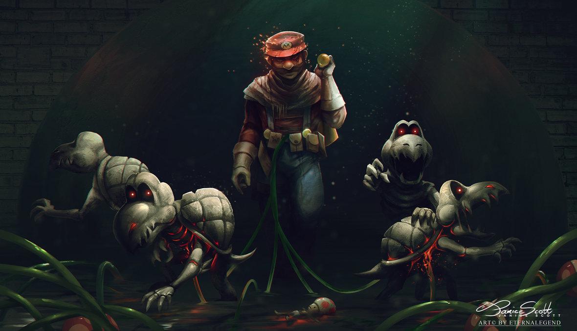 EternaLegend has Mario Meet Death Stranding