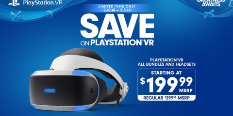 PSVR Dropping Price for a Limited Time
