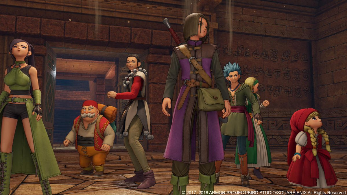 Popular RPG 'Dragon Quest XI' Coming Stateside For PS4 & Steam Exclusively