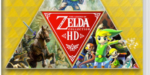 Mockup of a Zelda HD Collection for Nintendo Switch