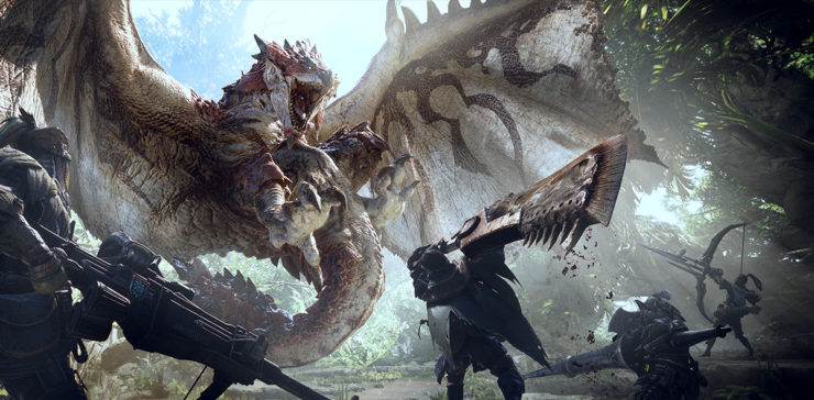 Monster Hunter World to be Ported to Steam