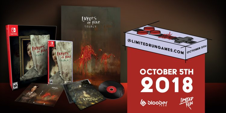 Layers of Fear Physical Edition