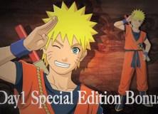 Naruto Shippuden: Ultimate Ninja Storm 3 DLC con el traje de Goku