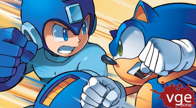 Mega Man y Sonic juntos