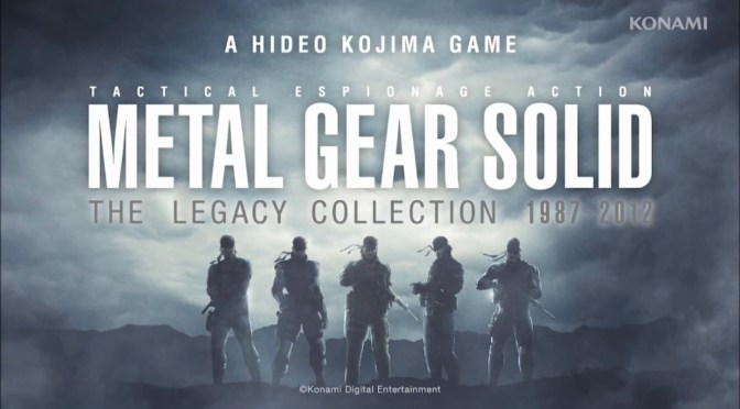 Avance y fecha de Lanzamiento de Metal Gear Solid: The Legacy Collection