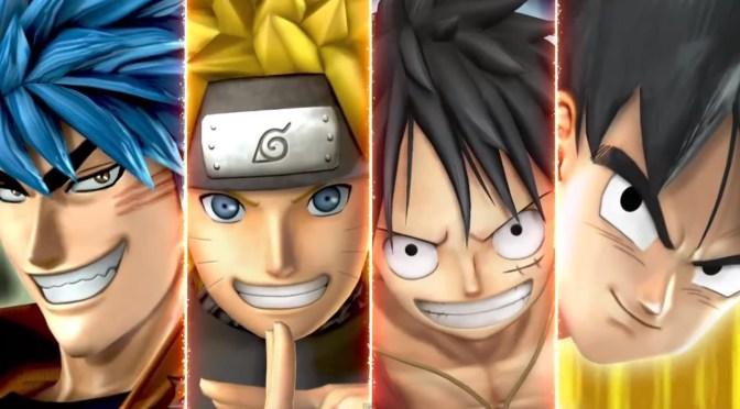 Gokú, Luffy, Naruto, Ichigo, Toriko y Kenshi pelearán juntos en J Stars Victory Vs