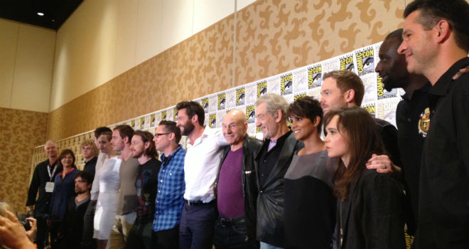 "[Comic-Con 2013] Vean el panel completo de ""X-Men: Days of Future Past"", Marvel, Godzilla y más"