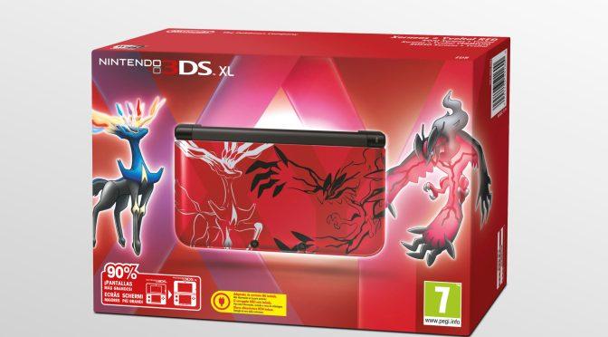 Se anuncian las dos ediciones especiales de 3DS XL con Pokémon X y Y.