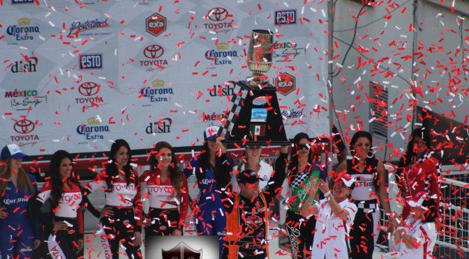 Rodrigo Peralta conquista la Nascar Toyota Series