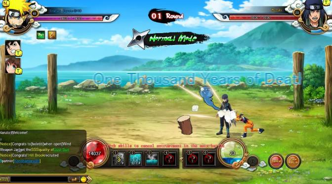 Ya está disponible la beta de Naruto Spirits