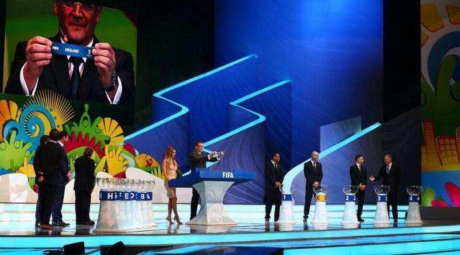 Sorteo Final Copa del Mundo Brasil 2014
