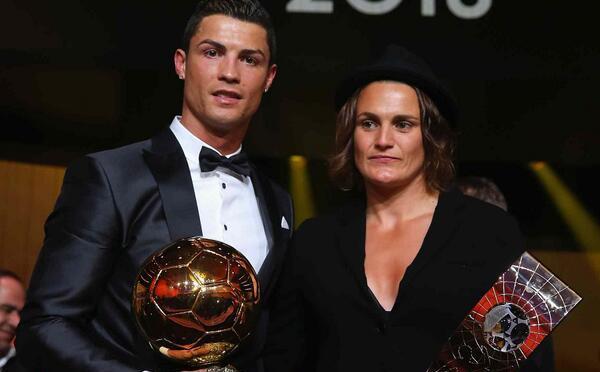 Cristiano Ronaldo, Angerer triunfan en el FIFA Ballon d´Or 2013