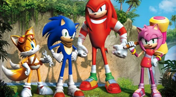 Sonic Boom será serie animada, videojuego y marca de juguetes!!