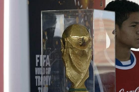 Llega a México el Trofeo Original de la Copa Mundial de la FIFA